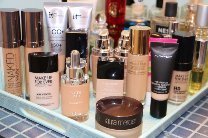 In search of the best liquidfoundations.
